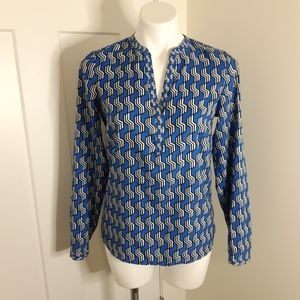 The Limited Size Small Blue Blouse